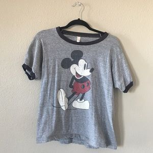 WALT DISNEY PRODUCTIONS • Vintage Mickey T Shirt